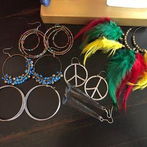 6 Random Sets of Earrings